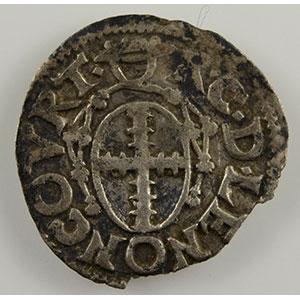 Numismatic foto  Münzen Lothringische Münzen Bistum von Metz Robert von Lenoncourt   (1551-1555) Demi-bugne   Vic-sur-Seille    TTB