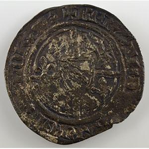 Numismatic foto  Münzen Lothringische Münzen Herzogtum von Bar René I   2° période   (1431-1453) Demi-Gros   Saint-Mihiel    TB+