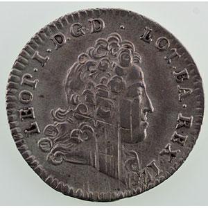 Numismatic foto  Münzen Lothringische Münzen Herzogtum von Lothringen Léopold I   (1690-1729) Demi-teston   1719    TTB