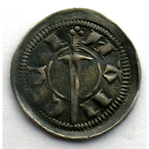 Numismatic foto  Münzen Lothringische Münzen Herzogtum von Lothringen Thiebaut II   (1303-1312) Denier au chevalier debout   Nancy    TTB