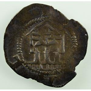 Numismatic foto  Münzen Lothringische Münzen Bistum von Metz Etienne de Bar   (1120-1162) Denier   (Epinal)    TB+