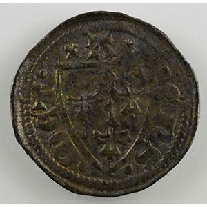 Numismatic foto  Münzen Lothringische Münzen Bistum von Metz Adhémar de Monthil   (1327-1361) Denier   Marsal    TTB
