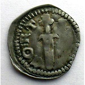 Numismatic foto  Münzen Lothringische Münzen Herzogtum von Lothringen Ferri III   (1251-1303) Denier  Mirecourt    TB+