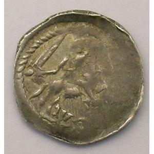 Numismatic foto  Münzen Lothringische Münzen Herzogtum von Lothringen Ferri III   (1251-1303) Denier  Nancy    TB/TB+
