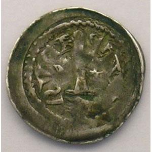 Numismatic foto  Münzen Lothringische Münzen Herzogtum von Lothringen Ferri III   (1251-1303) Denier  Neufchâteau    TB+