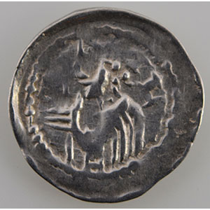 Numismatic foto  Münzen Lothringische Münzen Bistum von Metz Monnayage communal (13° siècle) Denier   (quartier de Vésigneul à Metz)    TTB