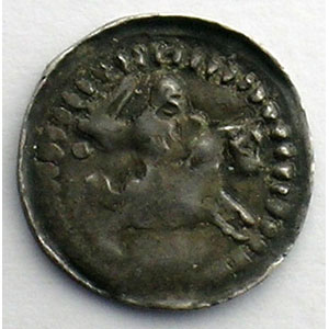 Numismatic foto  Münzen Lothringische Münzen Herzogtum von Lothringen Ferri III   (1251-1303) Denier  Sierck    TB+/TTB