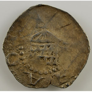Numismatic foto  Münzen Lothringische Münzen Bistum von Toul Brunon de Dabo   (1026-1051) Denier   (Toul)    TB