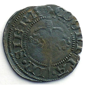 Numismatic foto  Münzen Lothringische Münzen Herzogtum von Lothringen Charles II   (1390-1431) Double Denier   SIERCK    TB/TB+