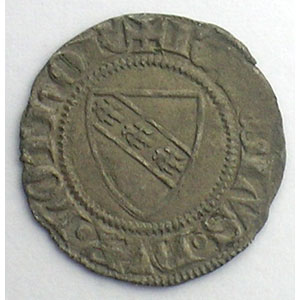 Numismatic foto  Münzen Lothringische Münzen Herzogtum von Lothringen Charles II   (1390-1431) Double Denier   SIERCK    TB+/TTB
