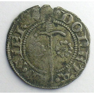 Numismatic foto  Münzen Lothringische Münzen Herzogtum von Lothringen Charles II   (1390-1431) Double Denier   SIERCK    TB+