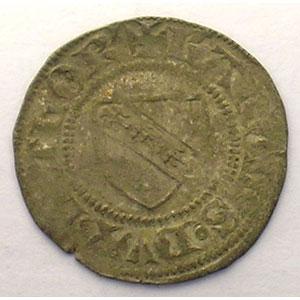 Numismatic foto  Münzen Lothringische Münzen Herzogtum von Lothringen Charles II   (1390-1431) Double Denier   SIERCK    TTB