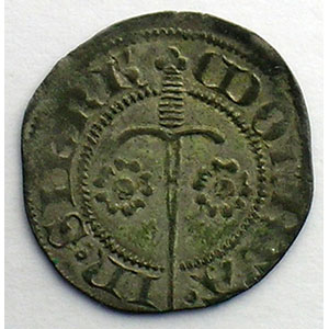 Numismatic foto  Münzen Lothringische Münzen Herzogtum von Lothringen Charles II   (1390-1431) Double Denier   SIERCK    TTB+
