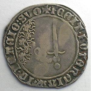 Numismatic foto  Münzen Lothringische Münzen Herzogtum von Lothringen Antoine   (1508-1544) Double gros de trois gros   Nancy    TB+/TTB