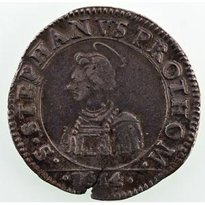 Numismatic foto  Münzen Lothringische Münzen Freie Stadt Metz Monnaies de la Cité Franc   1614    TTB
