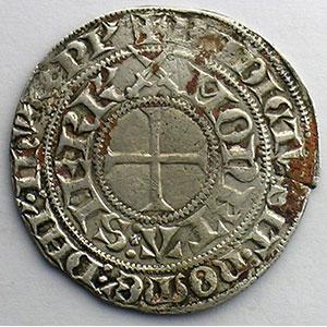 Numismatic foto  Münzen Lothringische Münzen Herzogtum von Lothringen Charles II   (1390-1431) Gros à l'écu de Lorraine   SIERCK    TB+/TTB