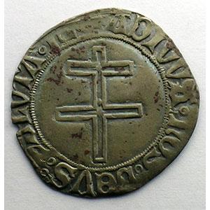 Numismatic foto  Münzen Lothringische Münzen Herzogtum von Lothringen René II   (1473-1508) Gros au Duc debout et à la croix de Lorraine    TB+