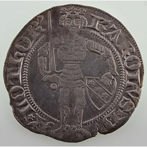 Numismatic foto  Münzen Lothringische Münzen Herzogtum von Lothringen Charles II   (1390-1431) Gros   NANCY    TB+/TTB