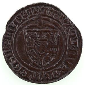 Numismatic foto  Münzen Lothringische Münzen Herzogtum von Lothringen René I   (1431-1453) Gros   Nancy    TTB