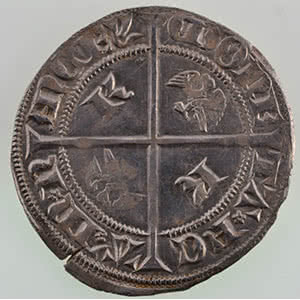 Numismatic foto  Münzen Lothringische Münzen Herzogtum von Lothringen Charles II   (1390-1431) Gros   NANCY    TTB+/SUP