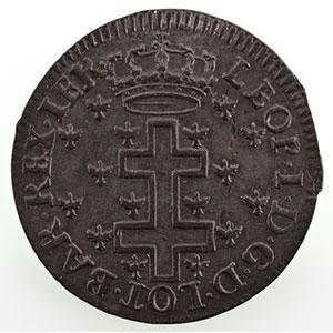Numismatic foto  Münzen Lothringische Münzen Herzogtum von Lothringen Léopold I   (1690-1729) LX Deniers   1726    SUP