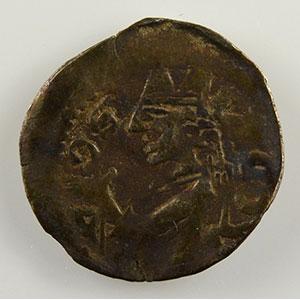 Numismatic foto  Münzen Lothringische Münzen Bistum von Metz Jacob von Lothringen   (1239-1260) Obole    TTB