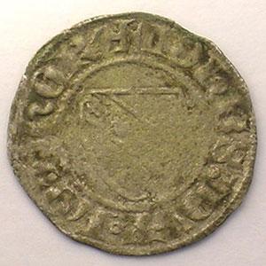 Numismatic foto  Münzen Lothringische Münzen Herzogtum von Lothringen Jean I   (1346-1390) Quart de Gros   SIERCK    TB+
