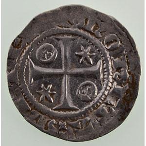 Numismatic foto  Münzen Lothringische Münzen Bistum von Metz Adhémar de Monthil   (1327-1361) Quart de gros    TB+/TTB