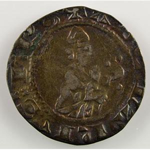 Numismatic foto  Münzen Lothringische Münzen Bistum von Metz Adhémar de Monthil   (1327-1361) Quart de gros    TB+