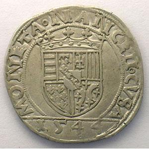 Numismatic foto  Münzen Lothringische Münzen Herzogtum von Lothringen Antoine   (1508-1544) Teston   1544    TB+