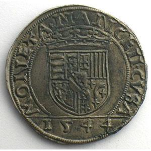 Numismatic foto  Münzen Lothringische Münzen Herzogtum von Lothringen Antoine   (1508-1544) Teston   1544    TTB+/SUP