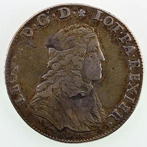 Numismatic foto  Münzen Lothringische Münzen Herzogtum von Lothringen Léopold I   (1690-1729) Teston   1704 réf.    TB+/TTB