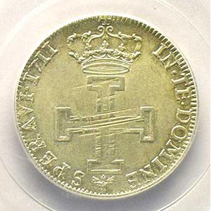 Numismatic foto  Münzen Lothringische Münzen Herzogtum von Lothringen Léopold I   (1690-1729) Teston 1711 flan neuf    PCGS-AU58    SUP