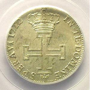 Numismatic foto  Münzen Lothringische Münzen Herzogtum von Lothringen Léopold I   (1690-1729) Teston 1712  flan neuf    PCGS-MS61    SUP/FDC