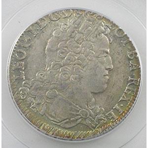 Numismatic foto  Münzen Lothringische Münzen Herzogtum von Lothringen Léopold I   (1690-1729) Teston 1712   flan neuf   PCGS-MS62    SUP/FDC