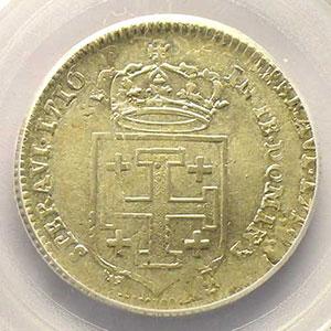 Numismatic foto  Münzen Lothringische Münzen Herzogtum von Lothringen Léopold I   (1690-1729) Teston 1716 réformé    PCGS-MS62    SUP/FDC
