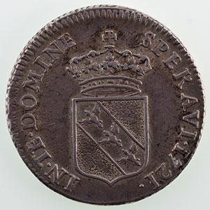 Numismatic foto  Münzen Lothringische Münzen Herzogtum von Lothringen Léopold I   (1690-1729) Teston   1721    TTB