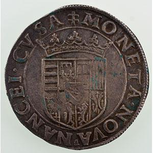 Numismatic foto  Münzen Lothringische Münzen Herzogtum von Lothringen Charles III   (1545-1608) Teston au buste viril  F (Ferry 1575-1581)    SUP