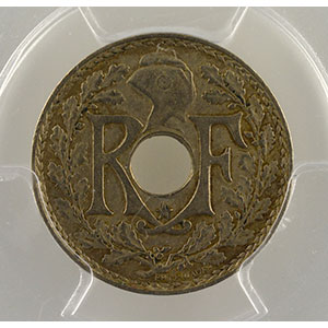 Numismatic foto  Münzen Münzen Frankreich 1793-1959 5 Centimes G.171   points avant et après la date .1938. étoile entre R et F    PCGS-AU50    TTB/TTB+