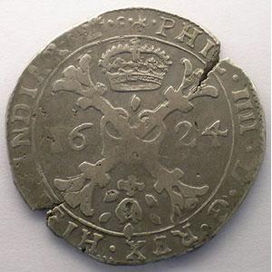 Patagon   Philippe IV (1621-1665)   1624   Dôle    TB+