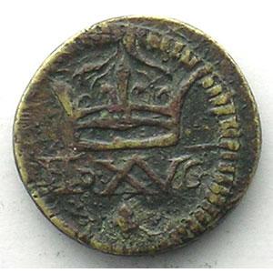 Poids monétaire du Demi Louis d'or aux 8 L (Louis XIII ou XIV)    TTB