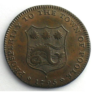 Poole   Farthing   1795    SUP