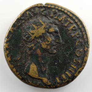 R/ LIBERTAS PVBLICA SC   (Rome 97)    TB
