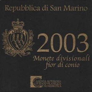 Saint Marin  coffret BU 2003