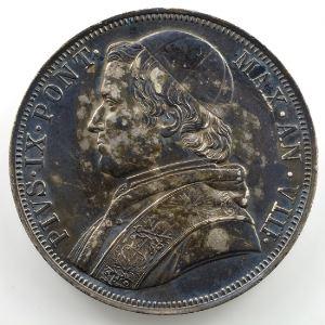 Scvdo   1853 R  (Rome)  Année VIII    TTB