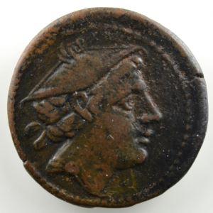 Semuncia de cuivre  20mm   (217-215 av.JC)    TTB