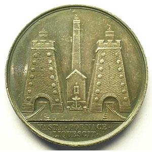 Terrenoire la Voulte et Bessèges   1859   jeton rond en argent    TTB/TTB+