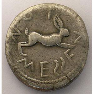 Tétradrachme   (env. 470 av. JC)    TTB