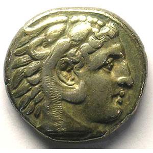 Tétradrachme   PELLA (Macédoine)   315-310 av.JC    TB+