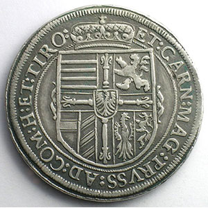 Thaler  1618 Co (Christoph Orber  HALL)    TTB